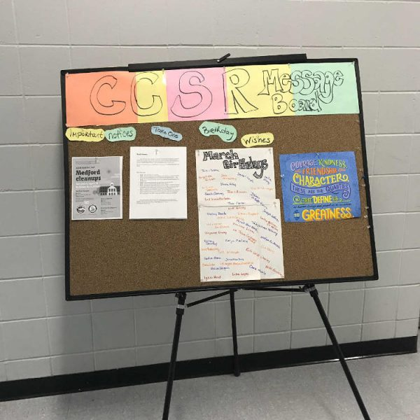 CCSR Message Board