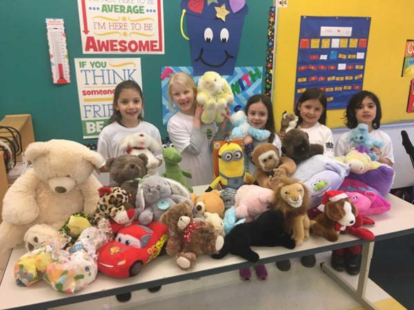 Stuffed Animal Donations for S.A.F.E