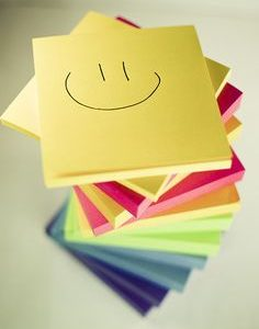 Sticky Notes of Gratitude
