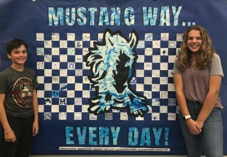 Mustang Way Banner