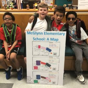 Newcomers' Map of McGlynn Elementary